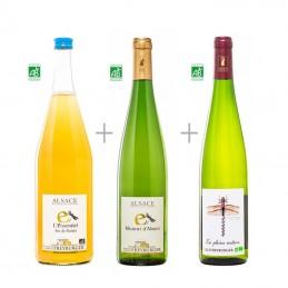 Colis Vin d 'Alsace Bio