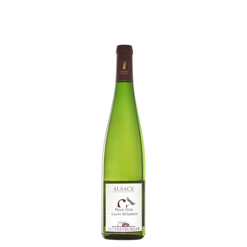Pinot Gris 2017 Cuvée Sébastien - Domaine Freyburger - Vigneron Indépendant en conversion BIO