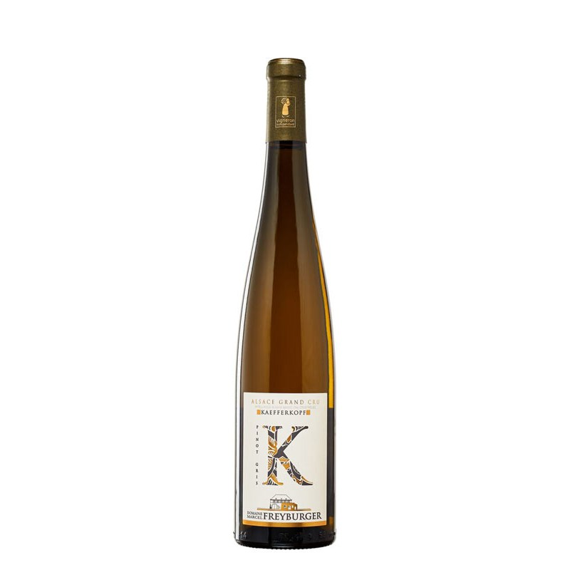 Pinot Gris Kaefferkopf 2018 - Domaine Freyburger - Vigneron Indépendant en conversion BIO
