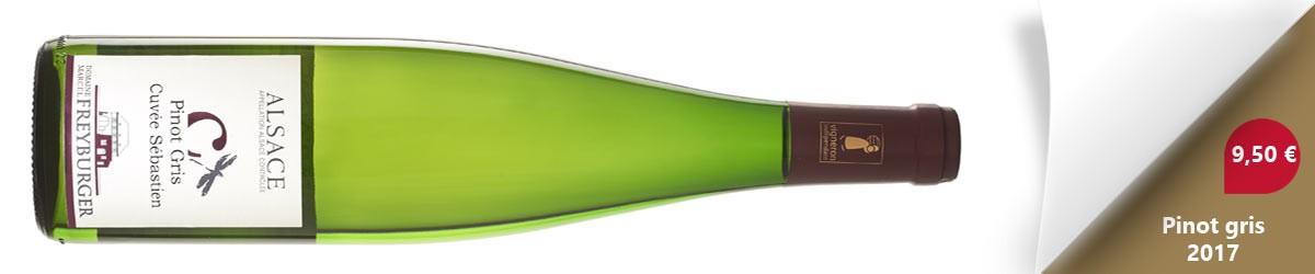 Pinot Gris 2017 Cuvée Sébastien
